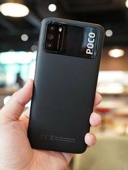 Мобильные телефоны - Новинка Poco: мощный аккум. 6000 мАч, 128 Гб, 48…, 0