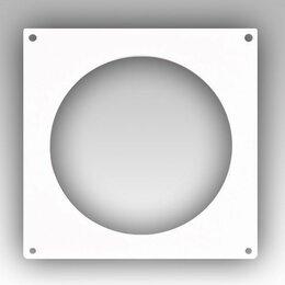 Аксессуары и запчасти - В10НКП Настенная пластина для круглых воздуховодов D100, 0