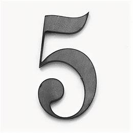 Украшения для организации праздников - Цифра 5 90x49 (3мм), 0