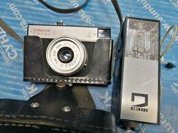 Пленочные фотоаппараты - Фотоаппарат Смена 8 М + Вспышка СЭФ 2, 0