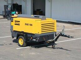 Воздушные компрессоры - компрессор для пескоструя Atlas Copco XAS 186, 0