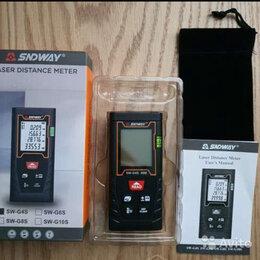 Измерительные инструменты и приборы - Лазерная рулетка 40м, 60м Sndway, 0