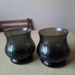 Бокалы и стаканы - Стаканы стекло рифлёные , 0