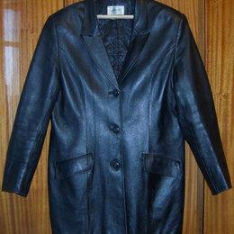 Пиджаки - Пиджак кожаный женский., 0