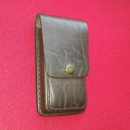 Чехлы - Чехол кобура для телефона из натуральной кожи…, 0