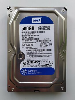 Внутренние жесткие диски - Жесткий диск для компьютера на 500 GB WD HDD, 0