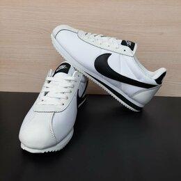 Кроссовки и кеды - Кроссовки Nike Cortez белые мужские (A771), 0