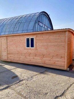 Готовые строения - Бытовка деревянная новая 6х2.30 А-518, 0