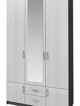 Шкафы, стенки, гарнитуры - Шкаф для одежды с ящиками и зеркалом, 0