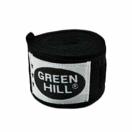 Аксессуары и принадлежности - Бинт боксерский Green Hill BP-6232a 2,5м черный, 0
