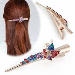 Аксессуары для волос - Заколка зажим Mirella Style для густых волос, 0