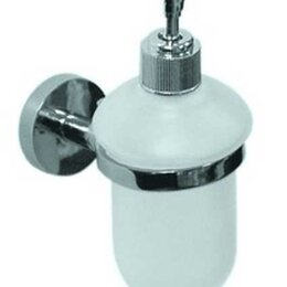 Мыльницы, стаканы и дозаторы - Аквалиния Дозатор для жидкого мыла подвесной Аквалиния F014 Эко, 0