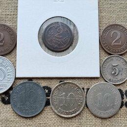 Монеты - Набор монет Германии (1876-1936 гг), 0