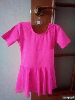 Купальники и плавки - Купальник розовый гимнастический с юбкой, для…, 0