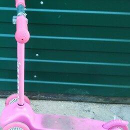 Самокаты - Самокат детский розовый в ремонт или на запчасти, 0