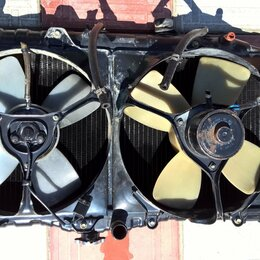 Отопление и кондиционирование  - Радиатор охлаждения Toyota Camry SV20, 0