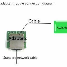Аксессуары для сетевого оборудования -  7 штук сетевых портов для 2,0 pitch контактный мини-модуль, 0