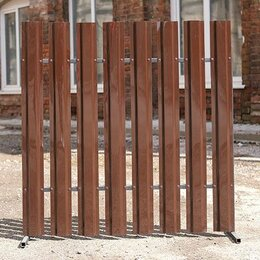 Заборы, ворота и элементы - Штакетник пэт. 1 мм. Цветной, 0