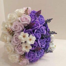 Искусственные растения - Букет цветов из мыла, 0