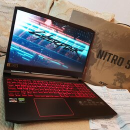 Ноутбуки - Новый Acer Nitro 5 на GTX 1650 Ti, 0