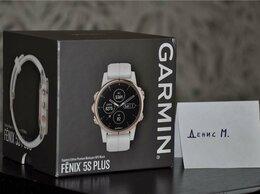 Умные часы и браслеты - Garmin Fenix 5S Plus Sapphire Rose Gold (новые), 0