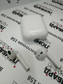 Наушники и Bluetooth-гарнитуры - Наушники Apple AirPods, 0