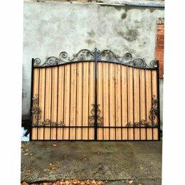 Заборы и ворота - Кованые распашные ворота, 0