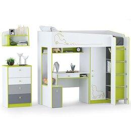 Кроватки - Нижегородмебель и К Кровать-чердак со столом,…, 0