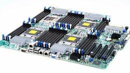 Серверы - 4-проц плата, 4 Xeon E5, 128-1024Gb RAM. допы и…, 0