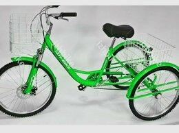 Велосипеды - Велосипед трехколесный Farmer IB-3W 6 ск. 24''…, 0