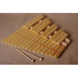 Ударные установки и инструменты - Мастерская Сереброва (к1-кс-11) Ксилофон хроматический Ля мажор, 0