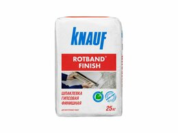 Строительные смеси и сыпучие материалы - Финишная шпаклевка гипсовая Кнауф Ротбанд-Финиш,…, 0