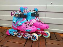 Роликовые коньки - Роликовые коньки детские sprinter 31-34, 0