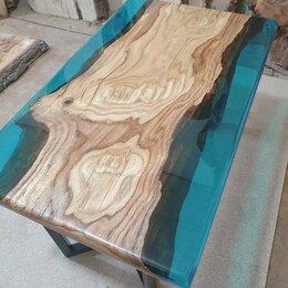 Столы и столики - Стол кофейный Стол река Стол из массива дуба, 0