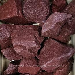 Камни для печей - Кварцит малиновый колотый для бани, 0