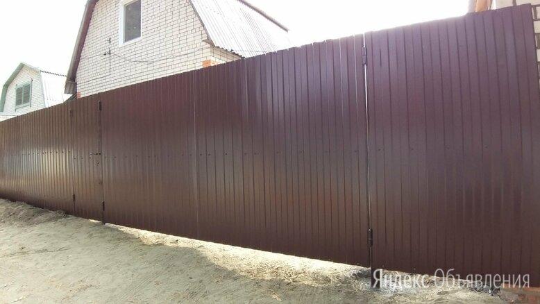 забор из профлиста по цене 800₽ - Заборы, ворота и элементы, фото 0