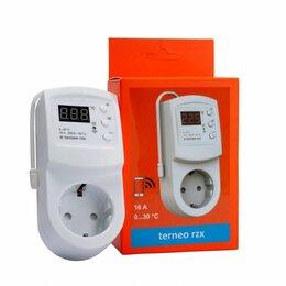 Средства индивидуальной защиты - Терморегулятор-термостат для теплых полов TERNEO RZX, 0