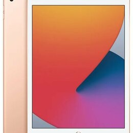 Планшеты - iPad (2020) 128Gb Wi-Fi gold, 0