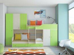 Кровати - Детская Двухъярусная кровать ЛЕО дуб…, 0