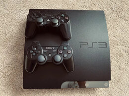 Игровые приставки - Sony Playstation 3 Slim на 320gb +30 игр, 0