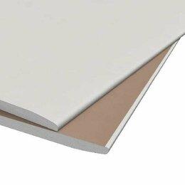 Гипсокартон и комплектующие - Гипсокартон KNAUF стеновой 12,5х1200х2500мм, 0