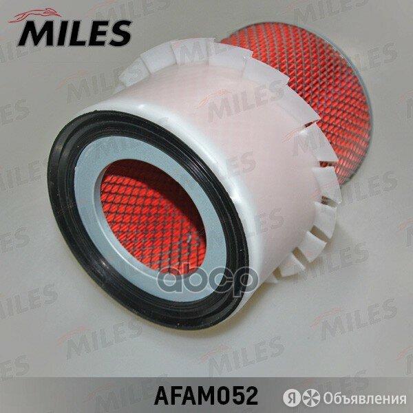 Фильтр Воздушный Mitsubishi Pajero 2.8td/3.0v6 94- Miles арт. AFAM052 по цене 406₽ - Отопление и кондиционирование , фото 0