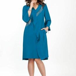 Платья - Платье 1836 TEZA бирюза Модель: 1836, 0