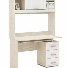 Компьютерные и письменные столы - Стол письменный симба с надстройкой, 0