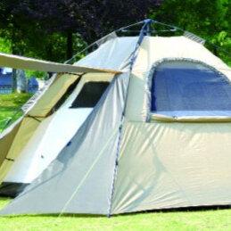 Палатки - Палатка туристическая.Автомат.Кемпинговая.Рыбалка.Ввертыши для палатки., 0