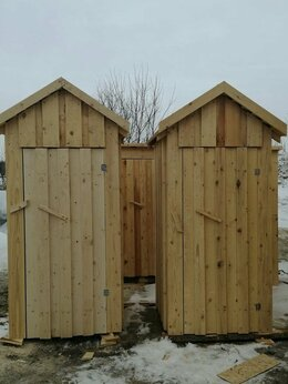 Готовые строения - Дачные деревянные туалеты, 0