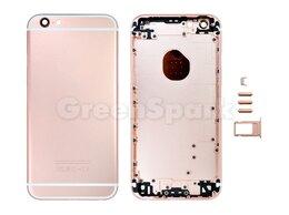 Корпусные детали - Задняя крышка для iPhone 6S (розовое золото)…, 0