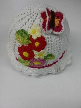 Головные уборы - Шляпки, панамки для принцесс, 0