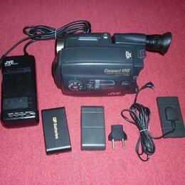 Видеокамеры - Видеокамера кассетная JVC, 0