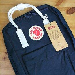 Рюкзаки - Рюкзак Kanken Classic (Royal Blue / White), 0